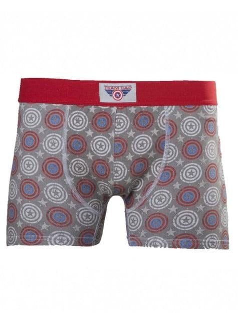 Captain America boxer shorts for men