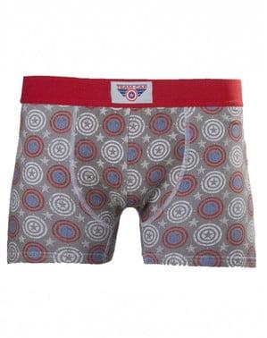 Captain America boxer shorts til mænd