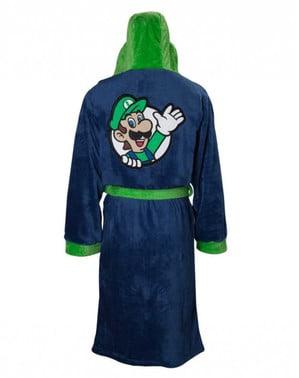 Accappatoio in pile Luigi per adulto - Super Mario Bros