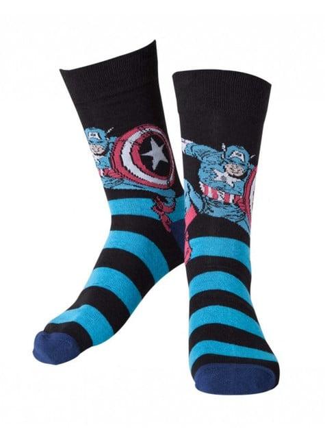 Calcetines de Capitán América para hombre
