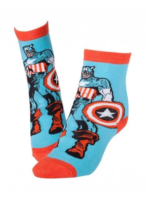 Captain America Comic socks for men
