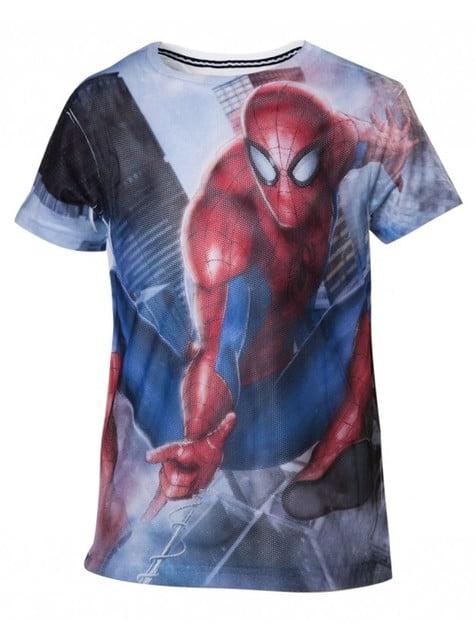Camiseta de Spiderman infantil