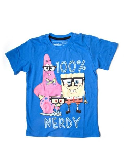 Blue SpongeBob t-shirt for kids
