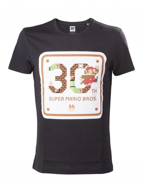 Camiseta de Mario Bros 30 aniversario