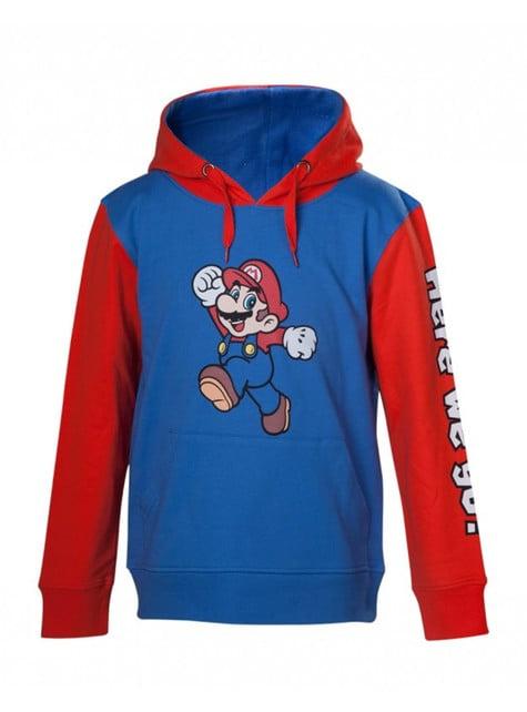 Sudadera de Mario Bros infantil