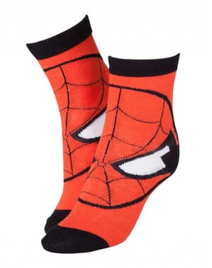 Rote Socken Spiderman für Männer