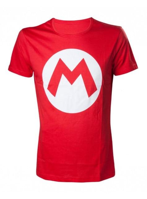 Camiseta de Mario Bros roja