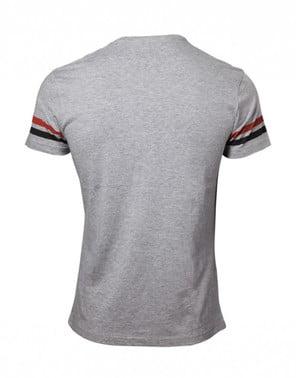 Black and grey Super Mario Bros t-shirt