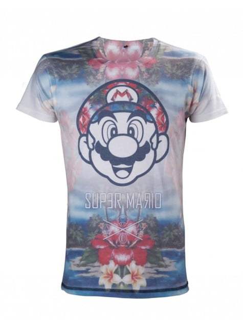 Tropical Super Mario Bros t-shirt