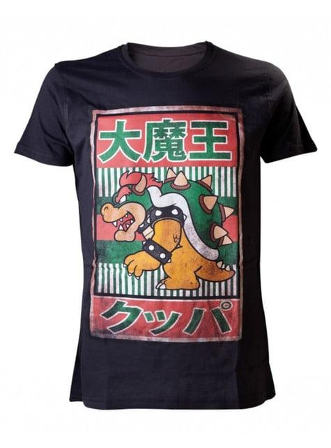 T-shirt de Bowser japonês