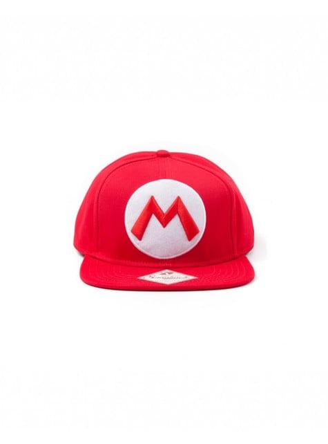 Gorra de Mario Bros roja