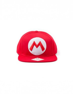 Punainen Super Mario Bros lippis