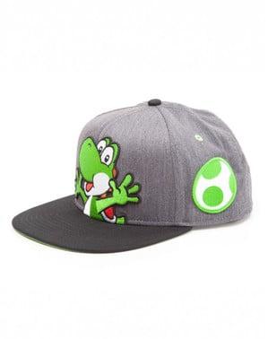 Gorra de Yoshi gris