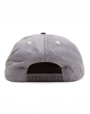Keps Yoshi grå