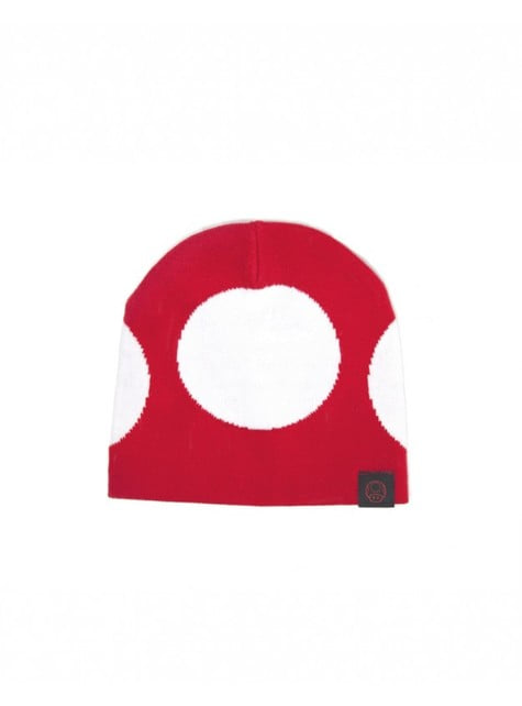 Gorro de champiñón rojo Mario Bros