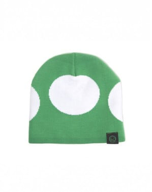 Bonnet champignon vert Mario Bros