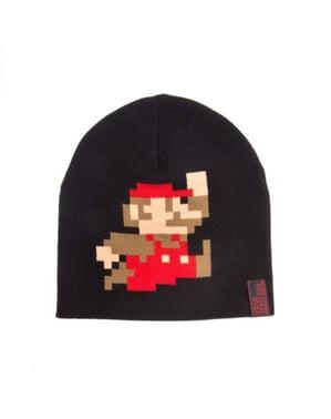 Berretto di Super Mario Bros pixelato
