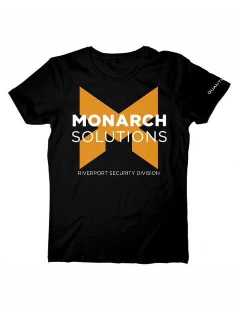 Camiseta de Monarch solutions Quantum Break
