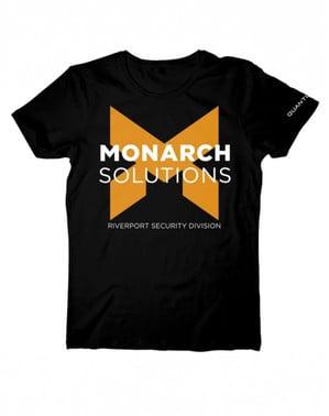 Camiseta de Monarch solutions Quantum Break