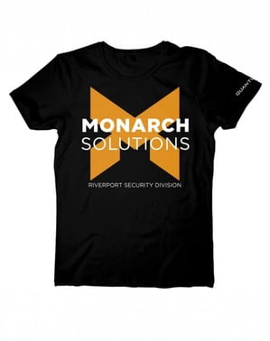 Quantum Break Monarch Solutions t-shirt