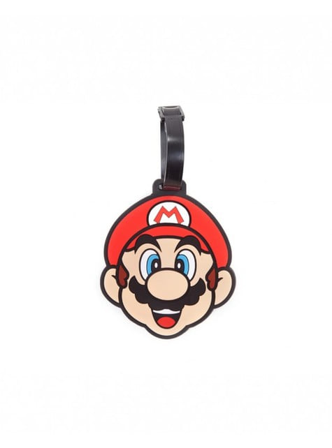 Super Mario Bros luggage tag