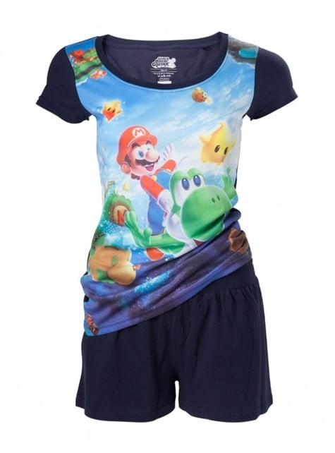 Pijama de Mario Bros para mujer - oficial