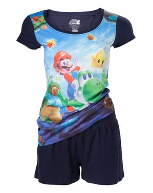 Super Mario Bros pyjama for women