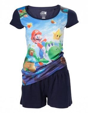 Piyama Super Mario Bros untuk wanita