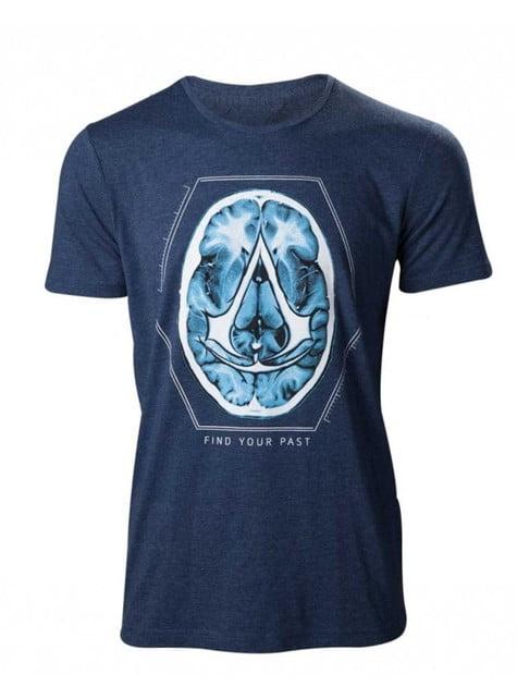 Blauw Assassin's Creed t-shirt