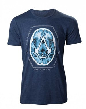 Blaues T-Shirt Assassin's Creed