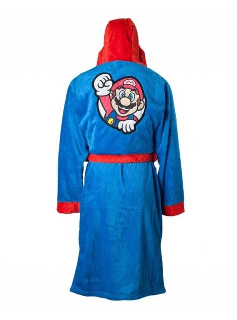 Roupão de Mario Bros para adulto