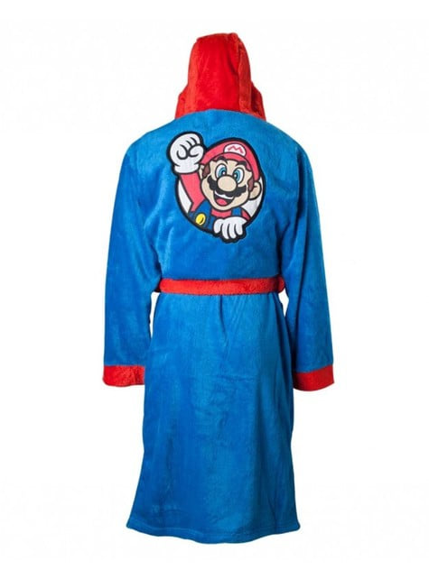 Super Mario Bros bathrobe for adults