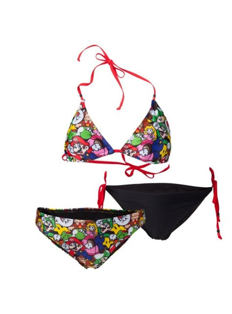 Super Mario Bros bikini kit for women