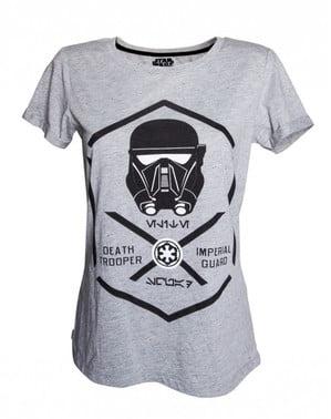 T-shirt de Deathtrooper para mulher