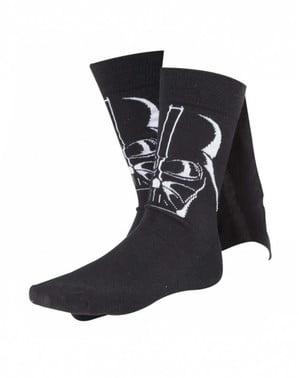 Chaussettes Dark Vador avec cape pour homme