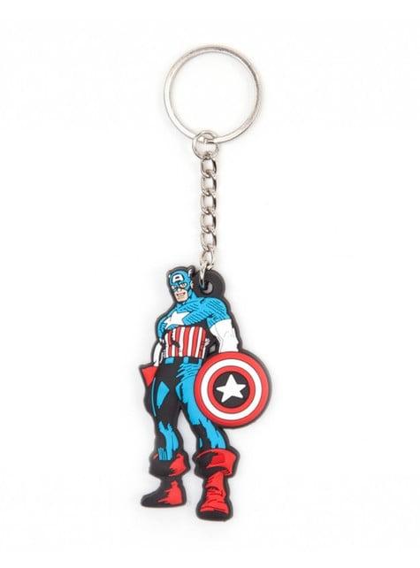Captain America Comic keyring
