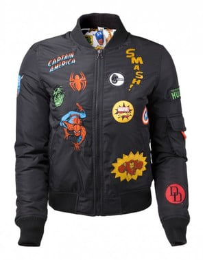 Marvel Superheroes jacket for women