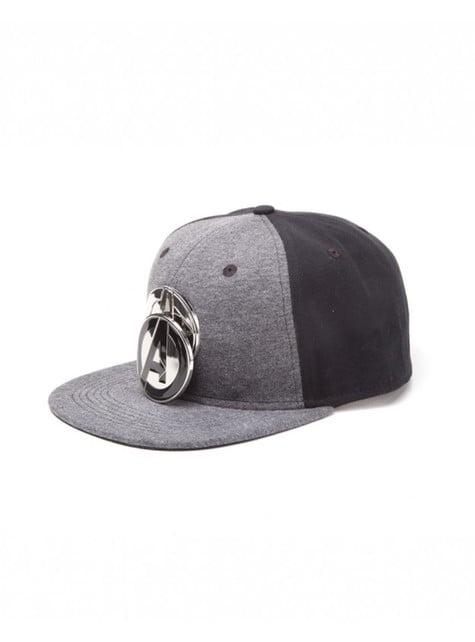 Gorra de Los Vengadores gris