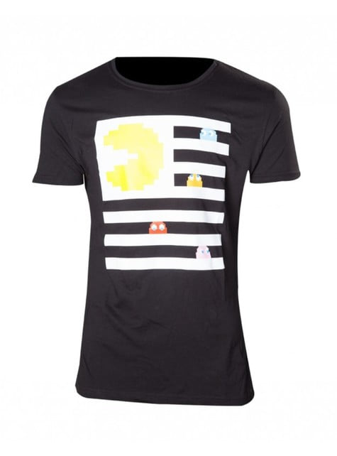 Zebra Crossing Pac-Man t-shirt
