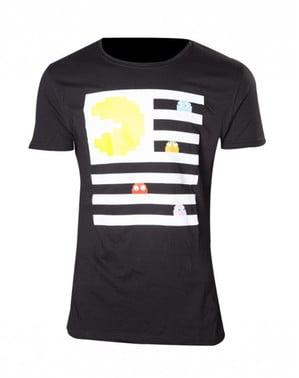 जेब्रा क्रॉसिंग पीएसी-मैन टी-शर्ट