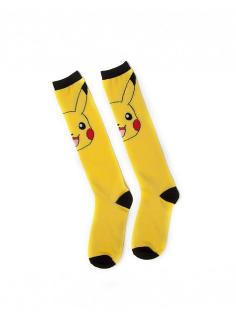 Calcetines de Pikachu para mujer