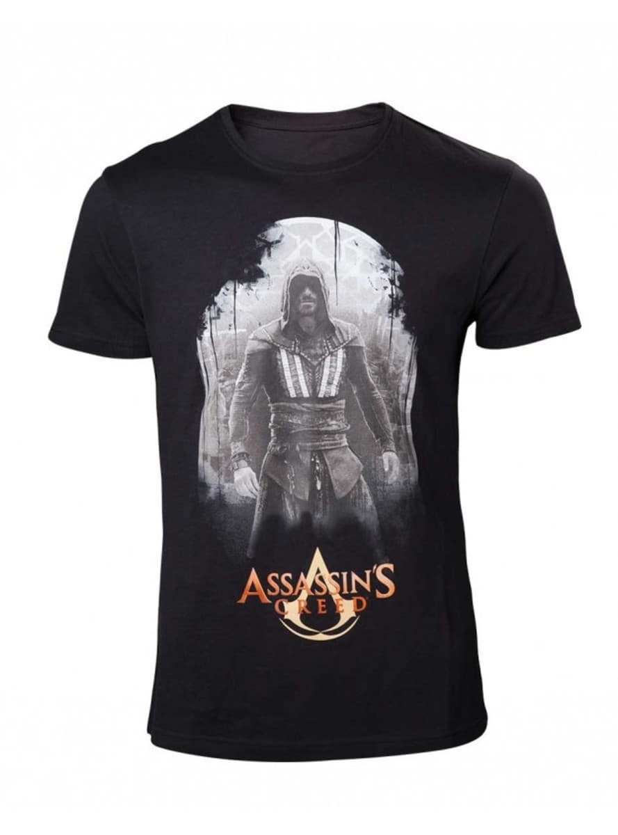 T shirt noir callum assassin 39 s creed le film funidelia for Film noir t shirts
