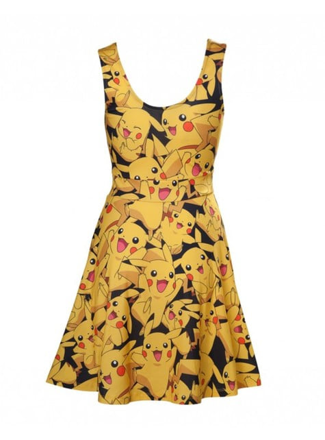 Pikachu kjole for dame