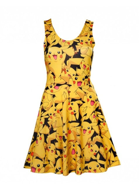 Vestido de Pikachu para mujer