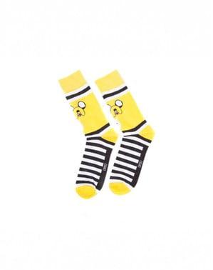 Socken Jake Adventure Time für Erwachsnee