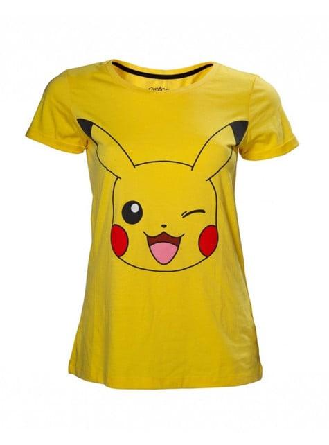 Pikachu t-skjorte for dame