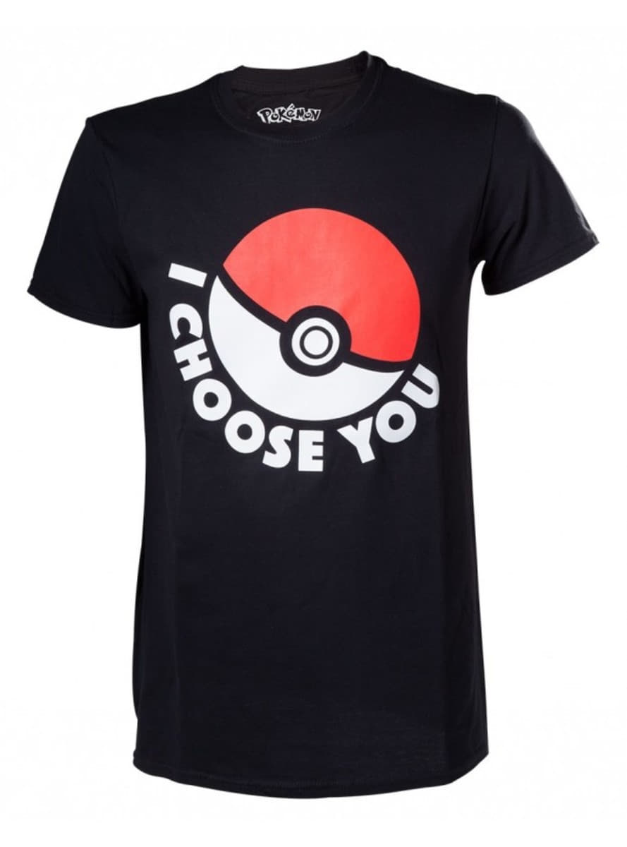 schwarzes t shirt pokeball f r echte fans funidelia. Black Bedroom Furniture Sets. Home Design Ideas