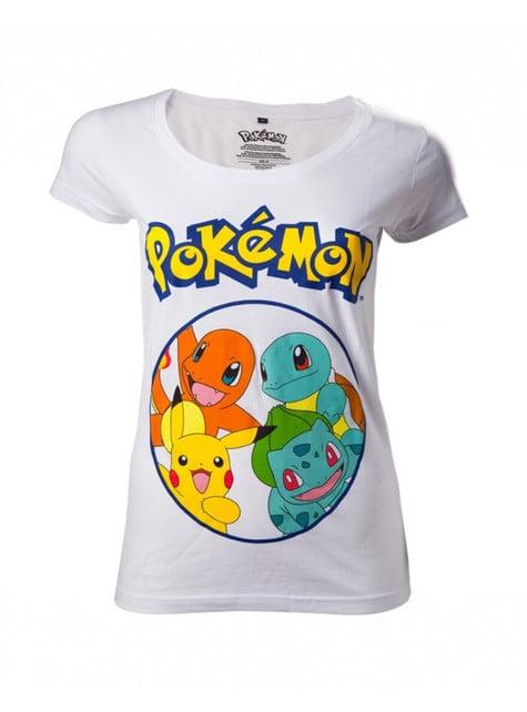White Pokémon t-shirt for women