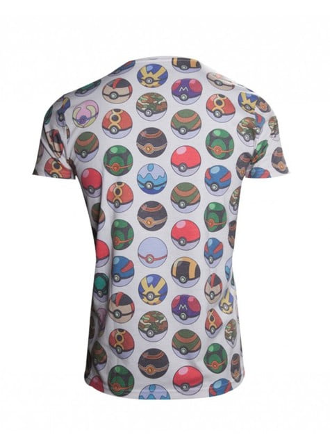 Pokeballs t-skjorte