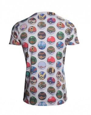ポケボールTシャツ